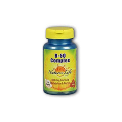 Nature's Life B-Complex - 50 mg - 50 Tablets