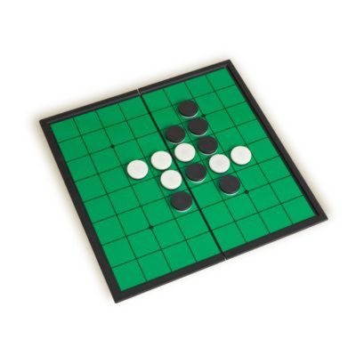 Sunnywood, Inc. Sterling Games PLASTIC MAGNETIC FOLDING REVERSI