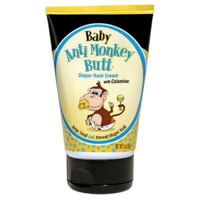 Anti Monkey Butt Baby Diaper Rash Cream 3 Oz Pack of 4