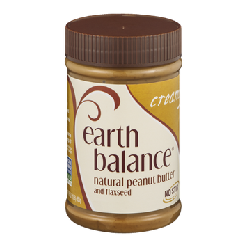 Earth Balance Natural Peanut Butter and Flaxseed Creamy