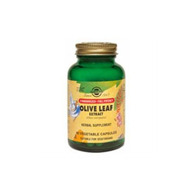 Solgar Olive Leaf Extract - 60 Vegetable Capsules