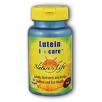 Nature's Life Lutein I Care/Macula Form. - 30 Capsules - All Other Antioxidants