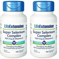 Life Extension - Super Selenium Complex & Vitamin E - 200 Mcg 100 X 2