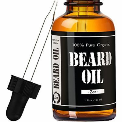 Zen Juniper Sage Beard Oil #1 RATED Leven Rose Leave-in Conditioner - Best Scented Beard Oil 100% Pure Organic Natural for Groomed Beard Growth, Mustache, Skin for Men - 1 oz Zen Juniper Sage Scent