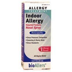 Natra-bio Homeopathics Bioallers Indoor Allergy Nasal Spray 0.8 Fl Oz