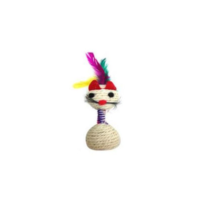 Iconic Pet C2003 Rope Cat Toy With Bell
