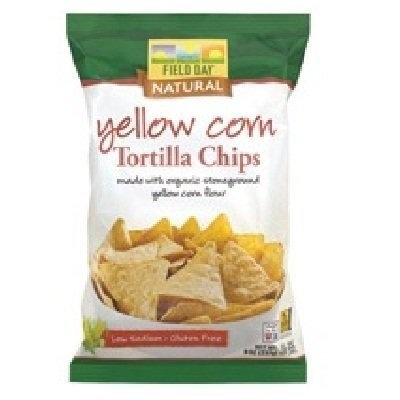 Field Day Yellow Tortilla Chips (18OZ) (Pack of 12)