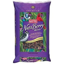 Kaytee Products KT15836 10 lb Wild Bird NutBerry Blend