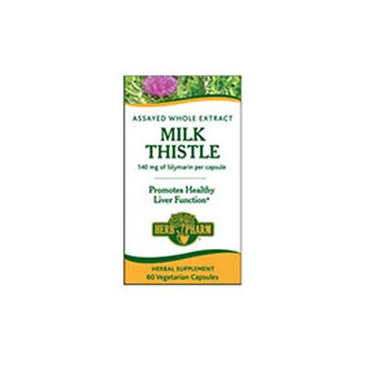 Herb Pharm - Milk Thistle 140 mg. - 60 Vegetarian Capsules