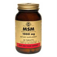 Solgar Msm 1000 MG - 60 Tablets - Other Supplements