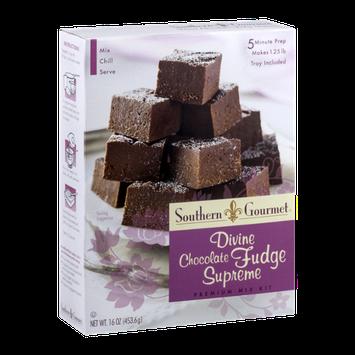 Southern Gourmet Premium Fudge Mix Kit Divine Chocolate Fudge Supreme