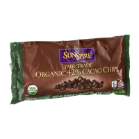 Sun Spire Fair Trade Organic 42% Cacao Chips