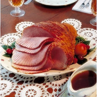 Johnston County Hams Honey Cured Spiral Sliced Ham