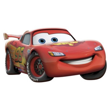 Uncle Milton Wall Friends Cars Lightning McQueen Animated Wall Art