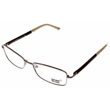 Mont Blanc Eyeglasses Prescription Frame Unisex Gold MB0345 072 Rectangular