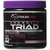 Platinum Labs Anabolic Triad Booster, Green Apple, 4.2 Ounce