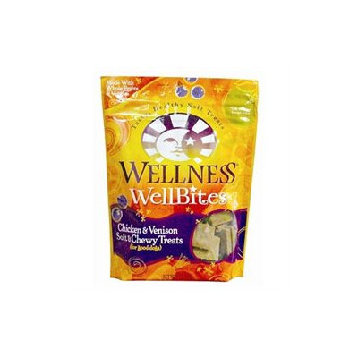 Wellpet Llc Wellness Wellbites - Chicken and Venison - 8 oz.