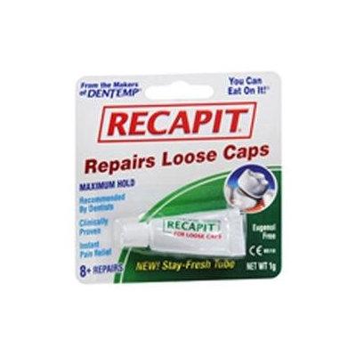 Recapit Dental Repair Cement for Loose Caps