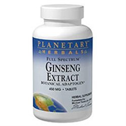 Planetary Formulations Ginseng Extract - 90 Tablets - Other Herbs