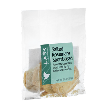 Lark Fine Foods Salted Rosemary Shortbread Cookies