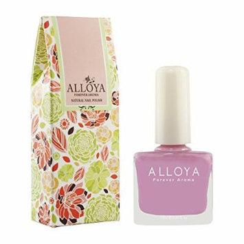 Alloya Natural Non Toxic Nail Polish, Pregnancy Safe, 036 Pink panther