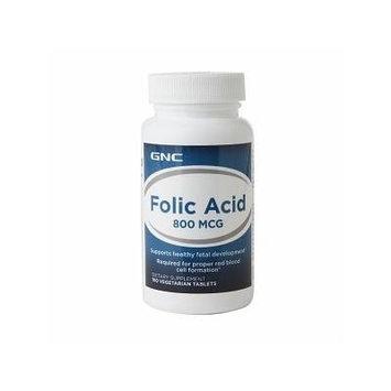 GNC Folic Acid 800, Veget Tab 100