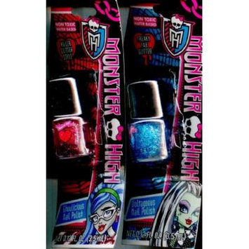 Monster High 2 Pack Nail Polish Set Frankie and Ghoulia