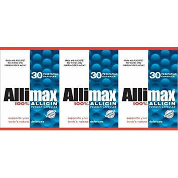 Allimax Allicin -- 3x30 = 90 CAPS