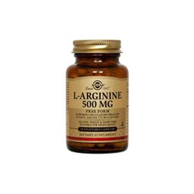 Solgar L-Arginine - 500 mg - 50 Vegetable Capsules