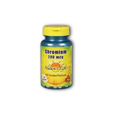 Nature's Life Chromium - 200 mcg - 250 Capsules