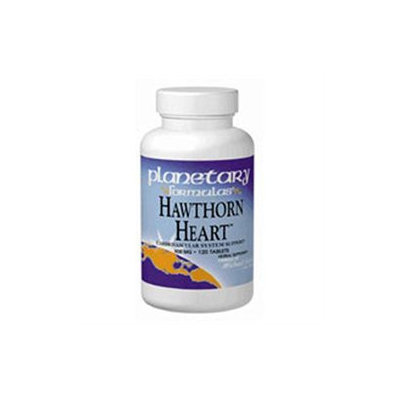 Planetary Herbals Hawthorn Heart - 900 mg - 60 Tablets