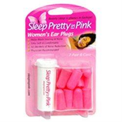 Sleep Pretty In Pink Women's Ear Plugs