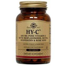 Solgar Hy-C - 100 Tablets - Vitamin C Complex