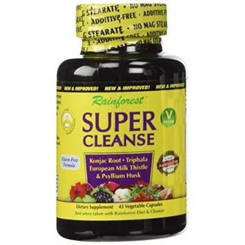 Rainforest Acai Super Cleanse Nutritional Supplement, 45 Count