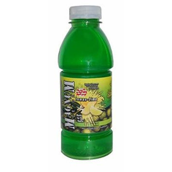 5 Pack - Magnum Detox Cleanser Instant Flush 16 Fl Oz Lemon Lime with Free Im Baked Bro and Doob Tubes Sticker