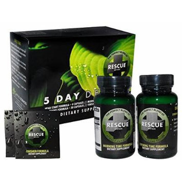 5 Pack - Rescue 5 DAY Detox with Free Im Baked Bro and Doob Tubes Sticker