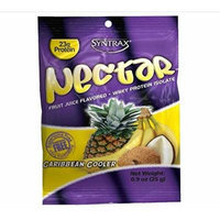 Syntrax Nectar Grab N Go, Caribbean Cooler Whey Protein, 1-ounce Pouches (Package of 12)