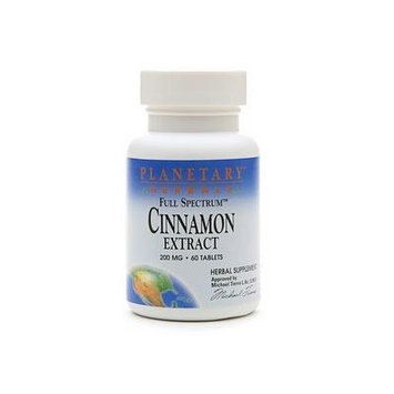 Planetary Herbals Full Spectrum Cinnamon Extract 200mg 60 tablets
