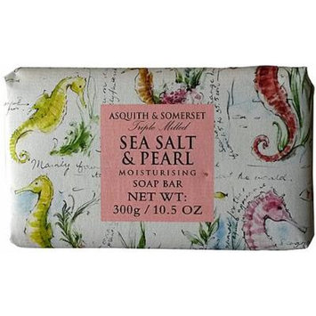 Asquith & Somerset Sea Salt & Pearl Single Soap Bar 10.5 Oz. From England