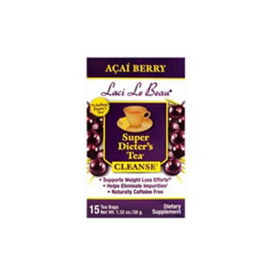 Laci Le Beau Super Dieters Tea with Acai Berry Extract - 15 Tea Bags