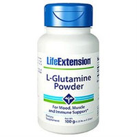 Life Extension L-glutamine Powder 100 Grams