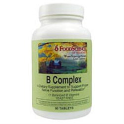 FoodScience of Vermont Vitamin B Complex-75 Capsules