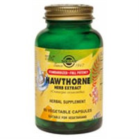 Solgar Hawthorne Berry Herb Extract - 60 Vegetable Capsules