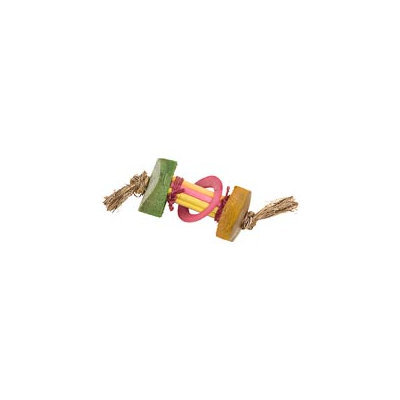 Planet Pleasures Eco Critters Chopstick Dumbell Small Animal Toy, 4