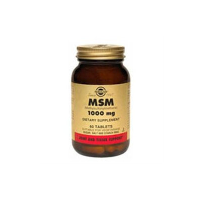 Solgar Msm 1000 MG - 120 Tablets - Other Supplements