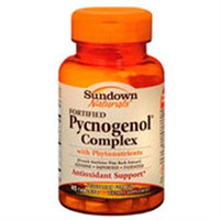 Sundown Vitamins. Fortified Pycnogenol Antioxidant Support With Phytonutrients Dietary