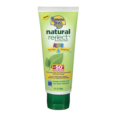 Banana Boat Natural Reflect Kids' Sunscreen Lotion SPF 50+