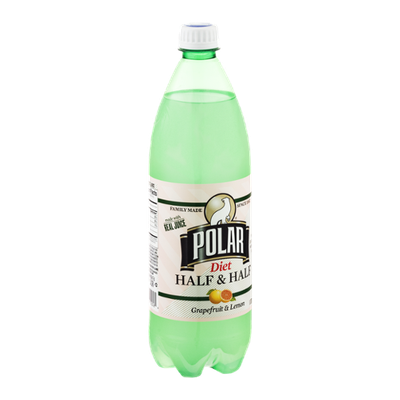 Polar Diet Half & Half Grapefruit & Lemon