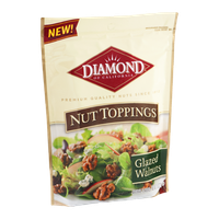 Diamond Nut Toppings Glazed Walnuts