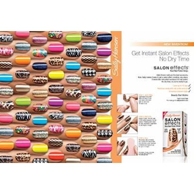 15 Sally Hansen Nail Effects Colors Fingernail Polish Strips
